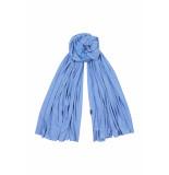 DIDI Soepelvallende sjaal blauw