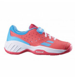 Babolat Tennisschoen junior pulsion all court pink sky blue roze