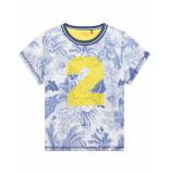Oilily Tak sportshirt gemaakt met delfts blauwe print-