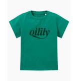 Oilily Tak t-shirt logo- groen