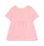 Oilily Timsy roze garment dye shirtje met fijn reliëf-