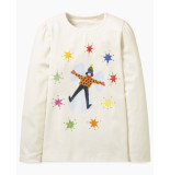 Oilily Tipsel shirt snow angel- wit