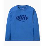 Oilily Tolsy shirt logo- blauw