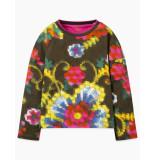 Oilily Tortilla shirt mosaic flower- groen