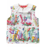 Oilily Blouse babba voor meisjes wit-