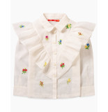 Oilily Bord blouse- wit