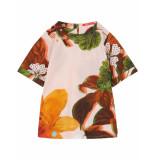 Oilily Doek jurkje van katoen met prachtige natuurprint-