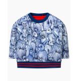 Oilily Habbit sweater- blauw