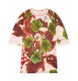 Oilily Hannes sweatjurk jurk van scuba met bloemenprint-
