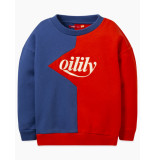 Oilily Heritage sweater- blauw