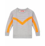 Oilily Hoores sweater met coole kitesurf details- grijs