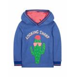 Oilily Sweater hactus- blauw
