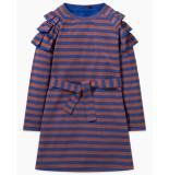 Oilily Tolive jersey jurk- blauw