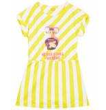 Oilily Turn jersey jurkje met urker dolls print- beige