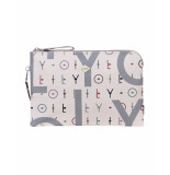 Oilily Clutch jolly letters off- wit