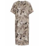 Oilily Dalene jurk cosmos flower- grijs melange