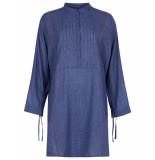 Oilily Taimen jurk check- blauw