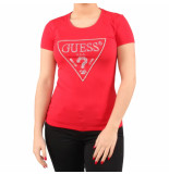 Guess Ss rn crystal tee rood