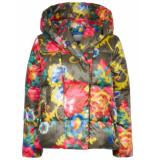 Oilily Canigou jas floral mosaic- groen