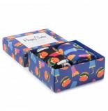Happy Socks Sxham02-6000 smu 2-pack hamburger giftbox