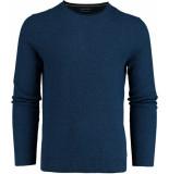 Bos Bright Blue Blue hong r-neck pullover fancy kn 19305ho18sb/247 blauw