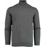 Bos Bright Blue Blue kenjio half zip pullover fanc 19305ke20bo/980 antraciet