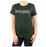 Nikkie Magic t-shirt groen
