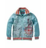 Oilily Cabin coat- licht blauw