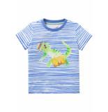 Oilily Jersey shirt to voor jongens blauw/wit-