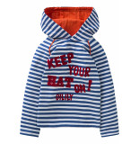 Oilily Jersey shirt totem voor jongens blauw-