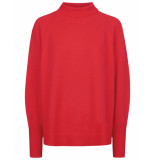 Oilily Kaprice pullover colorblock- rood