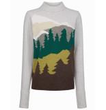 Oilily Kelsay pullover forest- grijs