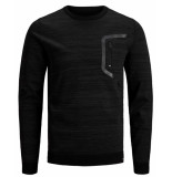 Jack & Jones Pullover 12160968 jcotonto zwart