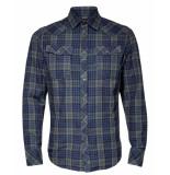 G-Star Overhemd d15459-b842-b070 blauw