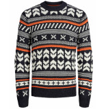 Jack & Jones Pullover 12162216 jorwinter bruin