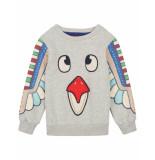 Oilily Sweater hotem- grijs