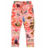 Oilily Territ roze sweatpants met urker fish story-