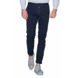 Closed Chino blauw