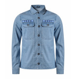 Denham Notion shirt blauw