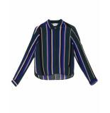 Another Label Blouse d47-519105 verplanck groen