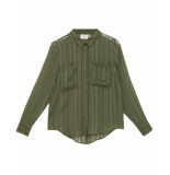 Another Label Blouse d64-619106 groen