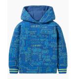 Oilily Hanck hoodie- blauw