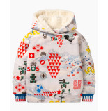 Oilily Hanck hoodie- wit