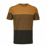 Selected Homme kevin tee okergeel