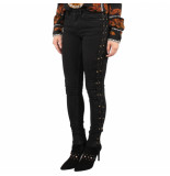 Nikkie Betty lace up skinny