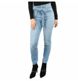 7 For All Mankind Paperbag waist pant blauw