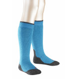 Falke Active warm+ kniekous turquoise blauw