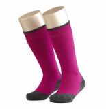 Falke Active warm+ kniekous carmine roze