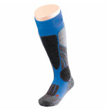 Falke Olympic kinder skisokken sk1 met verstevigde stukken blauw