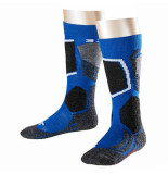 Falke Olympic kinder skisokken sk2 met verstevigde stukken blauw